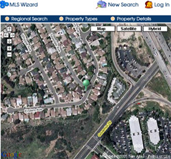 MLS-Integrated Google Map